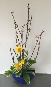 春のおしゃべり-桃
